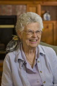 photo - Happy resident at Detray's Colonial Inn