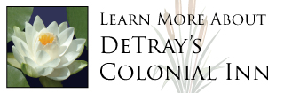 Navigation Tile - Learn More About DeTray's Colonial Inn