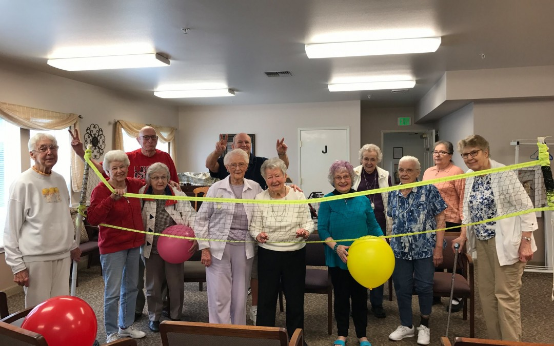 Our seniors enjoying retirement living.